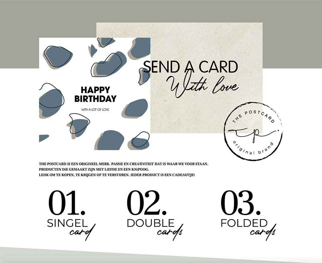 webdesign the postcard