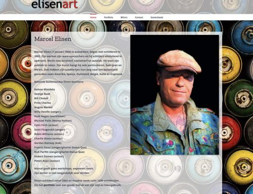 Website voor Elisenart