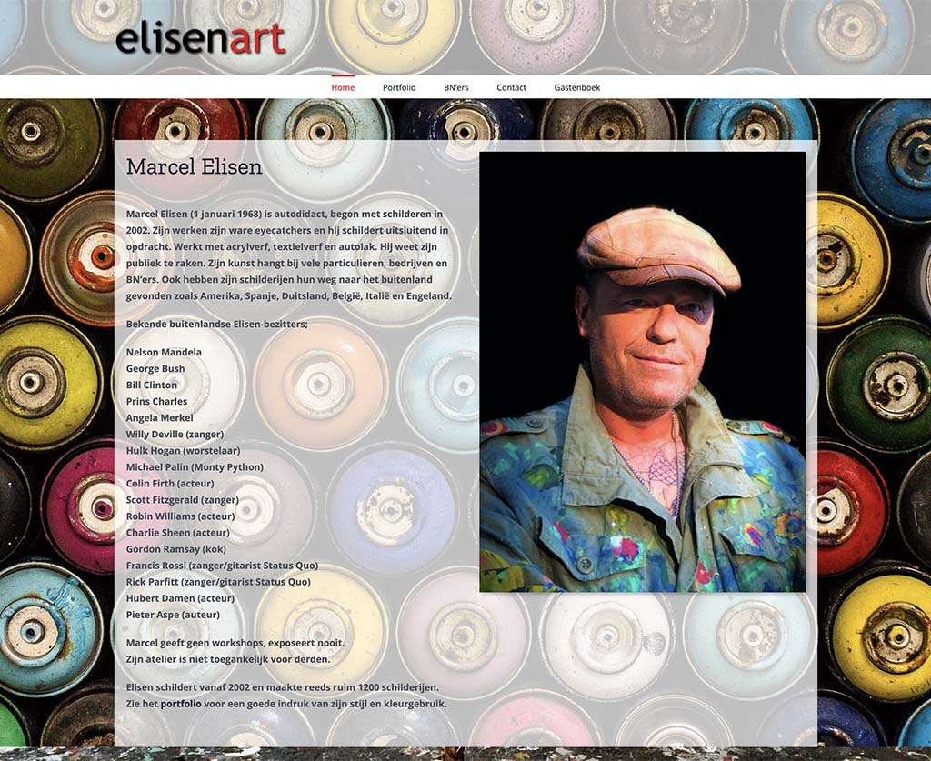 webdesign elisenart